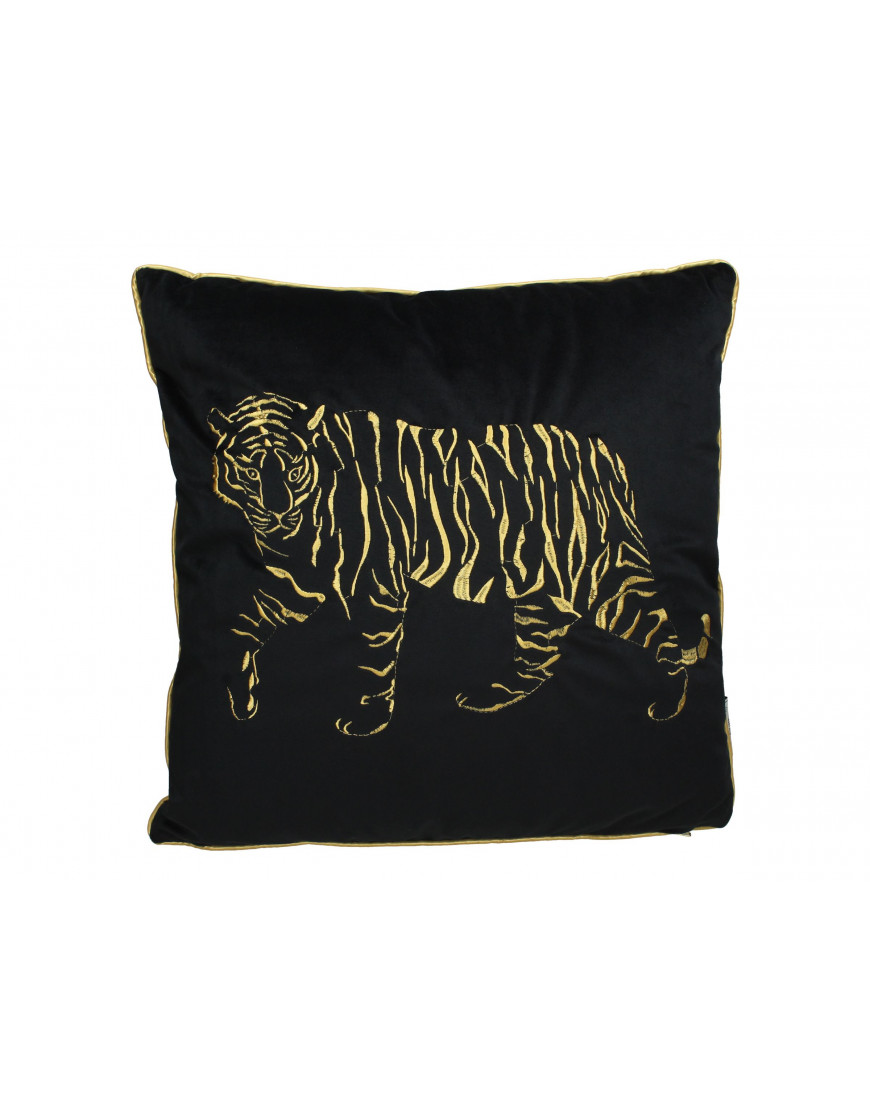 Cushion Tiger Black